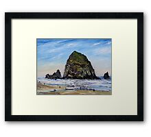 Cannon Beach Morning Framed Print