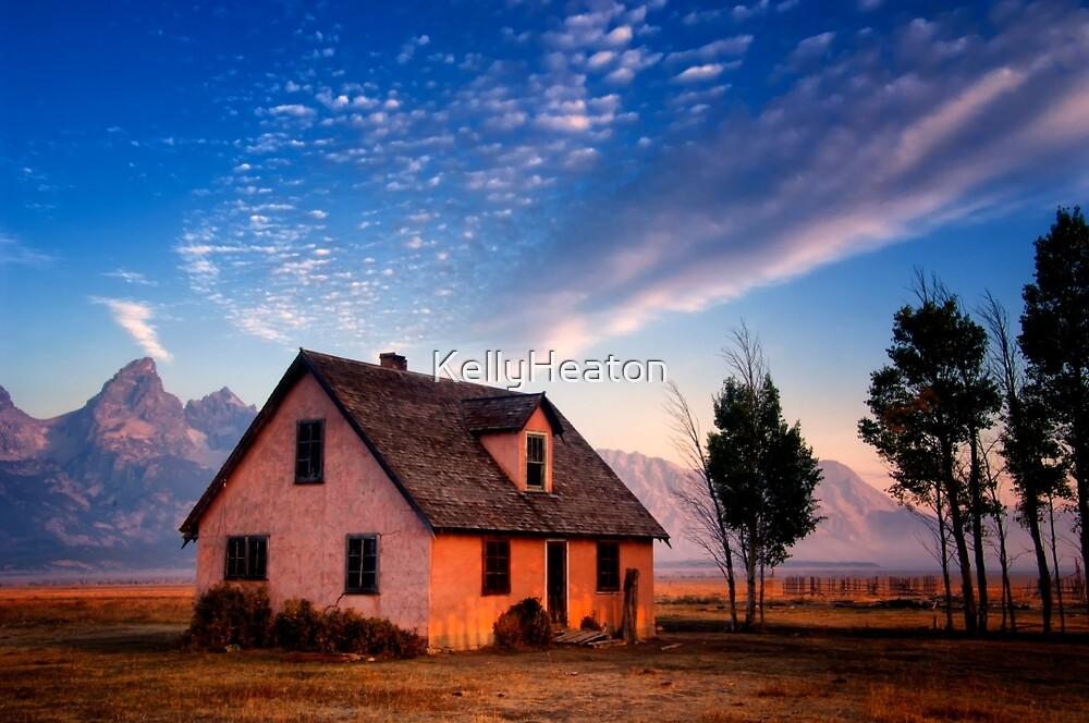 Pink House on Mormon Row by KellyHeaton