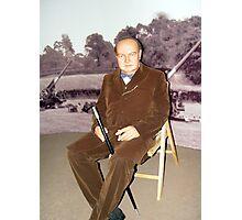 Winston Churchill  Photographic Print