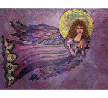 Electric Angel Photographic Print