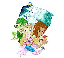 Ocarina Ladies Photographic Print