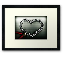 Don't Chain My Heart Framed Print