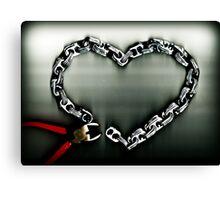 Don't Chain My Heart Canvas Print