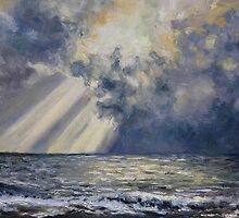 Sky and Sea French Beach by TerrillWelch