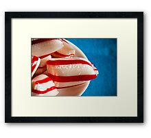 humbug from above Framed Print