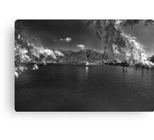 swiss alpine lake Canvas Print