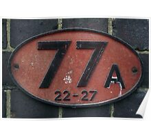 77 Poster