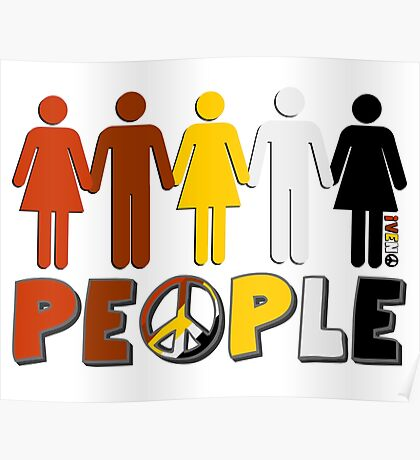 People 4 WORLD PEACE Poster