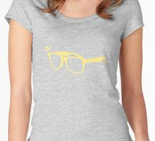 Grab your shades, cutie! Women's Fitted Scoop T-Shirt