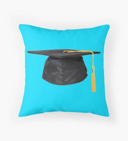 Graduation hat Throw Pillow
