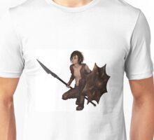 Dragon Warrior Boy - Crouching Unisex T-Shirt