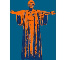 Hail to the Orange, Hail to the Blue Photographic Print