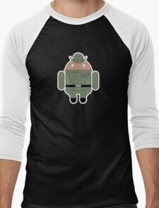 Droid General Veers (No Text) Men's Baseball ¾ T-Shirt