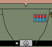 Droid General Veers (No Text) Sticker