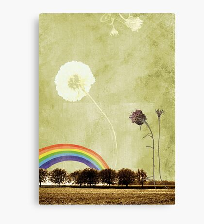 Thistle & Dandelion Canvas Print