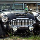 Austin Healey 3000 MkII by Jason Ruth