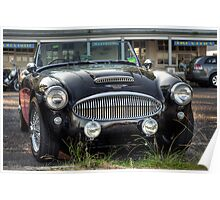 Austin Healey 3000 MkII Poster