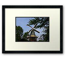 Windmill at Keukenhof. Framed Print