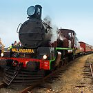 Steam Engine by Kym Howard