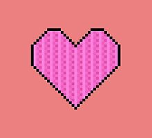 Pixelated Heart by bebe-gun