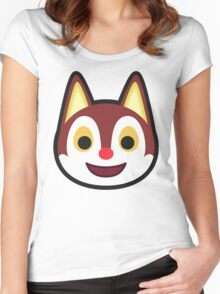 RUDY ANIMAL CROSSING Women's Fitted Scoop T-Shirt