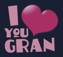 I love you GRAN One Piece - Long Sleeve