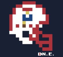 Tecmo Bowl - New England Patriots - 8-bit - Mini Helmet shirt by QB Bills