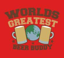 WORLDS GREATEST beer buddy One Piece - Short Sleeve