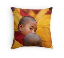 Bodh Gaya Throw Pillow