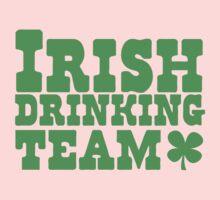 Irish drinking team Kids Tee