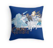ChronoThrone Throw Pillow