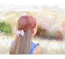 Daydreaming Girl Photographic Print