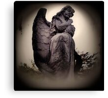 Angel Enhanced Canvas Print