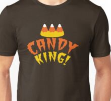 CANDY KING! Halloween crown with candy corn Unisex T-Shirt