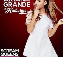 Ariana Grande Scream Queens FOX Promotional Poster September 2015 +Duvets and Scarves by Stingray Florida