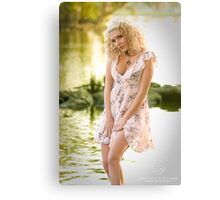 Lady of the lake... Canvas Print
