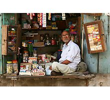 The Shopkeeper Photographic Print