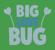 BIG LOVE BUG! with cute antennae Kids Clothes