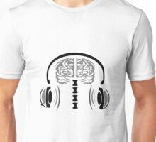 Grey Matter Jamming with Headset Unisex T-Shirt