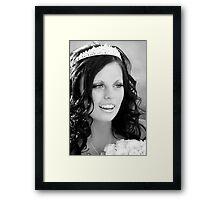 The Bride Framed Print