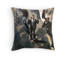 Life Splattered Throw Pillow