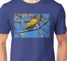 Male Yellow Warbler Unisex T-Shirt
