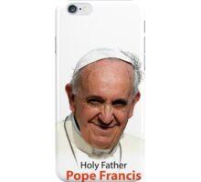 Pope Francis Headshot 1 iPhone Case/Skin