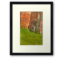 looking for riders Framed Print