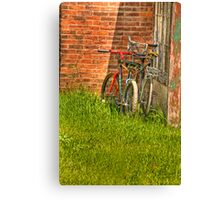 looking for riders Canvas Print