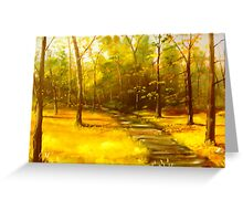 """Virginia Creeper Trail"" Greeting Card"