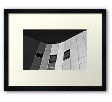 Grey Scale Framed Print