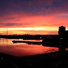 Rainbow Sunset by squidypoo