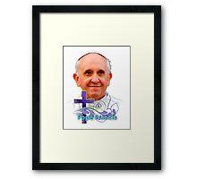 Pope Francis Headshot 3 Framed Print