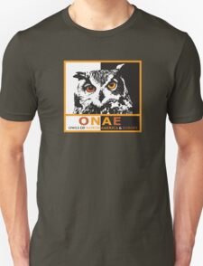 Owls of North America and Europe Official T-Shirt Unisex T-Shirt